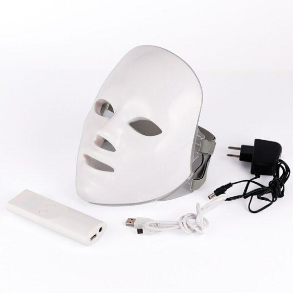masque luminothérapie accessoires